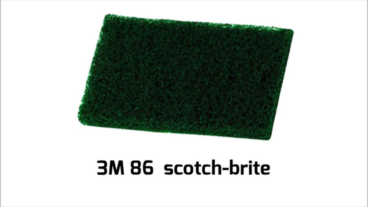 3M 86 Scotch-Brite | ALDERO industrial supplies - YouTube