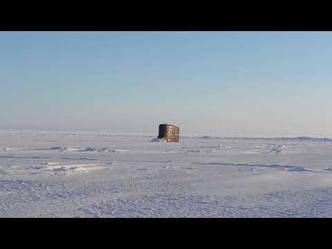 USS Connecticut Breaks Ice In Arctic Circle