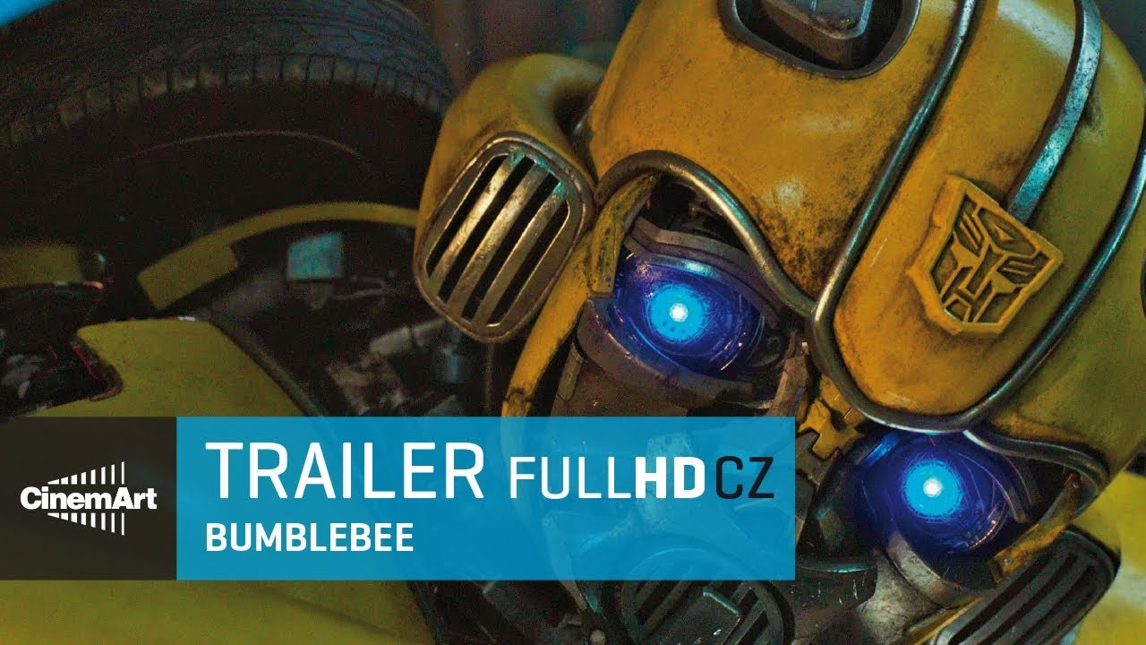 Bumblebee (2018) oficiální HD trailer [CZ TIT]