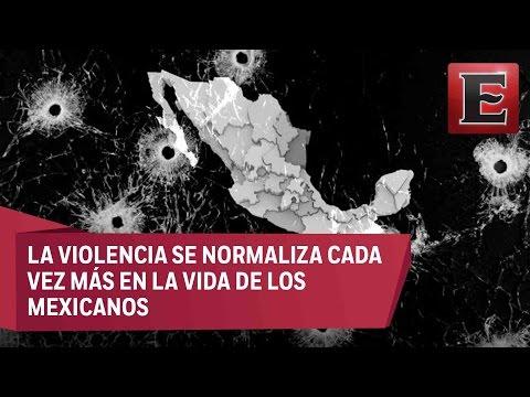 Incontrolable la ola de violencia en México