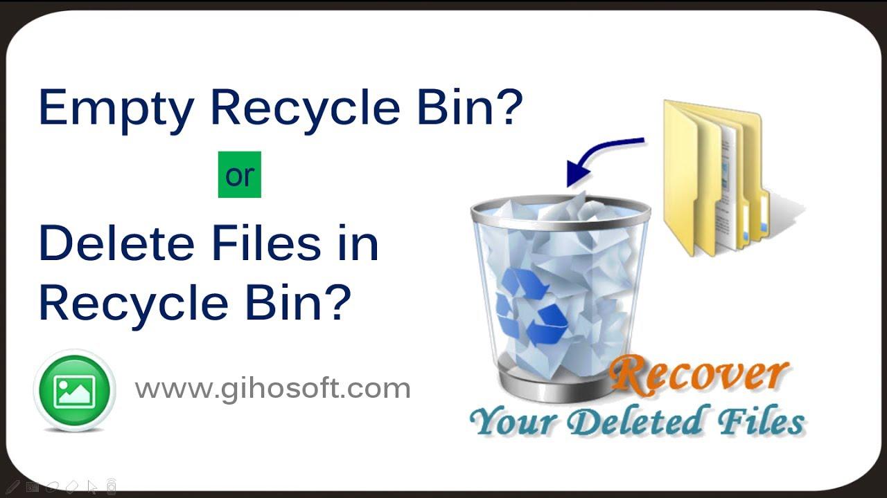 How do I retrieve deleted photos from recycle bin - Microsoft Community
