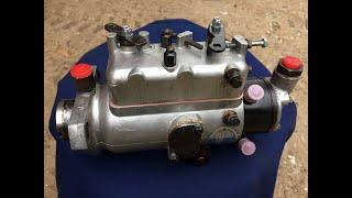 Massey Ferguson 35 ( MF 35 ) tractor CAV injection pump renovation