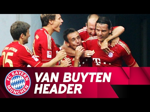 Van Buyten's Beautiful Header vs. Hamburger SV! | 2011/12 Season