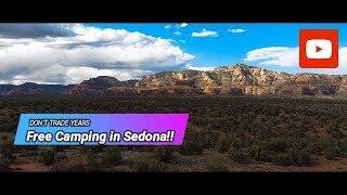 Free Camping near Sedona!