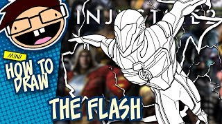 How to Draw THE FLASH (Injustice 2)   Narrated Easy Step-by-Step Tutorial