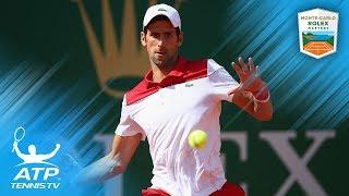 Vintage Novak Djokovic shots vs Lajovic | Monte-Carlo 2018 First Round
