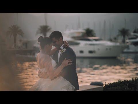 Sawsan {+} Faysal   Luxury Marina Regent Porto Montenegro Wedding