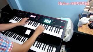 Đàn Organ Roland XPS-30 vs BK5 Mưa Đã Tạnh - Nguyễn Kiên