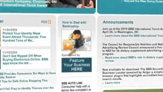 BBB Dallas Online Sponsorship Program
