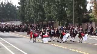 Glendora HS - The Voice of the Guns - 2014 Riverside King Band Review