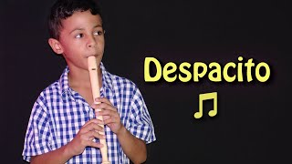 Despacito en flauta - Juan kids music