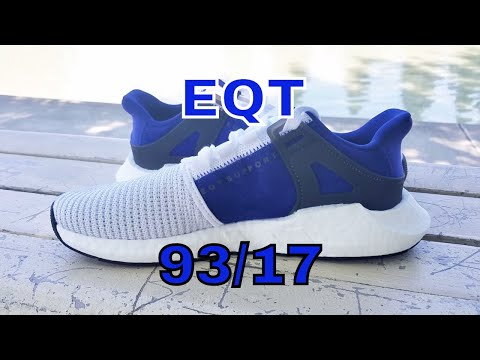 """Unbox Them Copps - Adidas EQT Support 93/17 """"Royal Blue"""""""