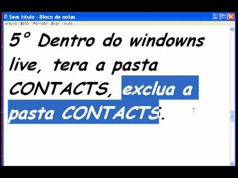MSN CODIGO DE ERRO 81000605 [RESOLVIDO]