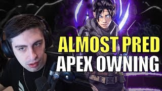 SHROUD ▪ Close To Pred. Back To His Best?【Apex Legends Ranked】