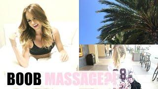 POST OP WITH DOCTOR & MASSAGING MY BOOBS!   DailyPolina // Boob Job Vlog #9
