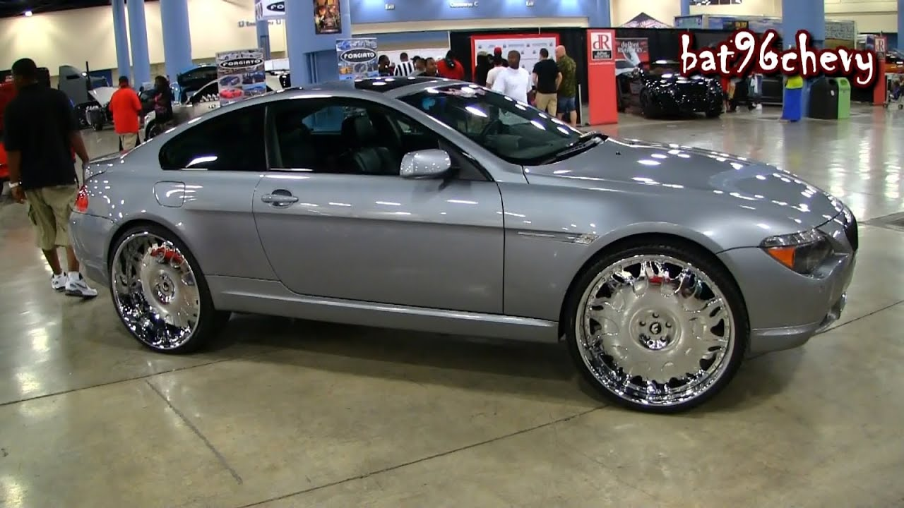 BMW SERIES Coupe On Forgiatos Staggered Wheels P HD - Bmw 645ci wheels