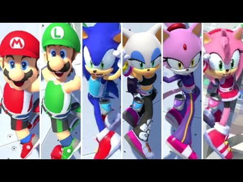 Mario & Sonic At The Olympic Games Tokyo 2020 - Sport Climbing (All Characters)