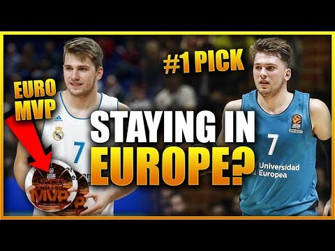 BREAKING NEWS: LUKA DONCIC TO STAY AT REAL MADRID & NOT JOIN THE NBA?