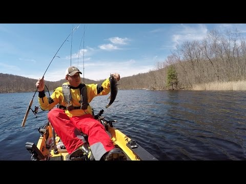 Fishing sterling forest ny blue lake bass youtube for Freshwater fishing ny