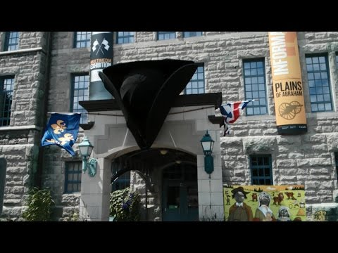 Visiting the Plains of Abraham Museum in Quebec City, Canada