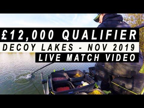 DECOY LAKES £12,000 LIVE MATCH GOLDEN ROD FEEDER - FEEDER FISHING FOR CARP