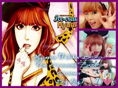 [Trueheartz321 Solo Cover]Hyuna Ft Maboo-Ice Cream