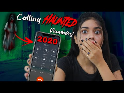 Calling HAUNTED Numbers You Should Never Call At Midnight!! *call Received* ( Horror Series )