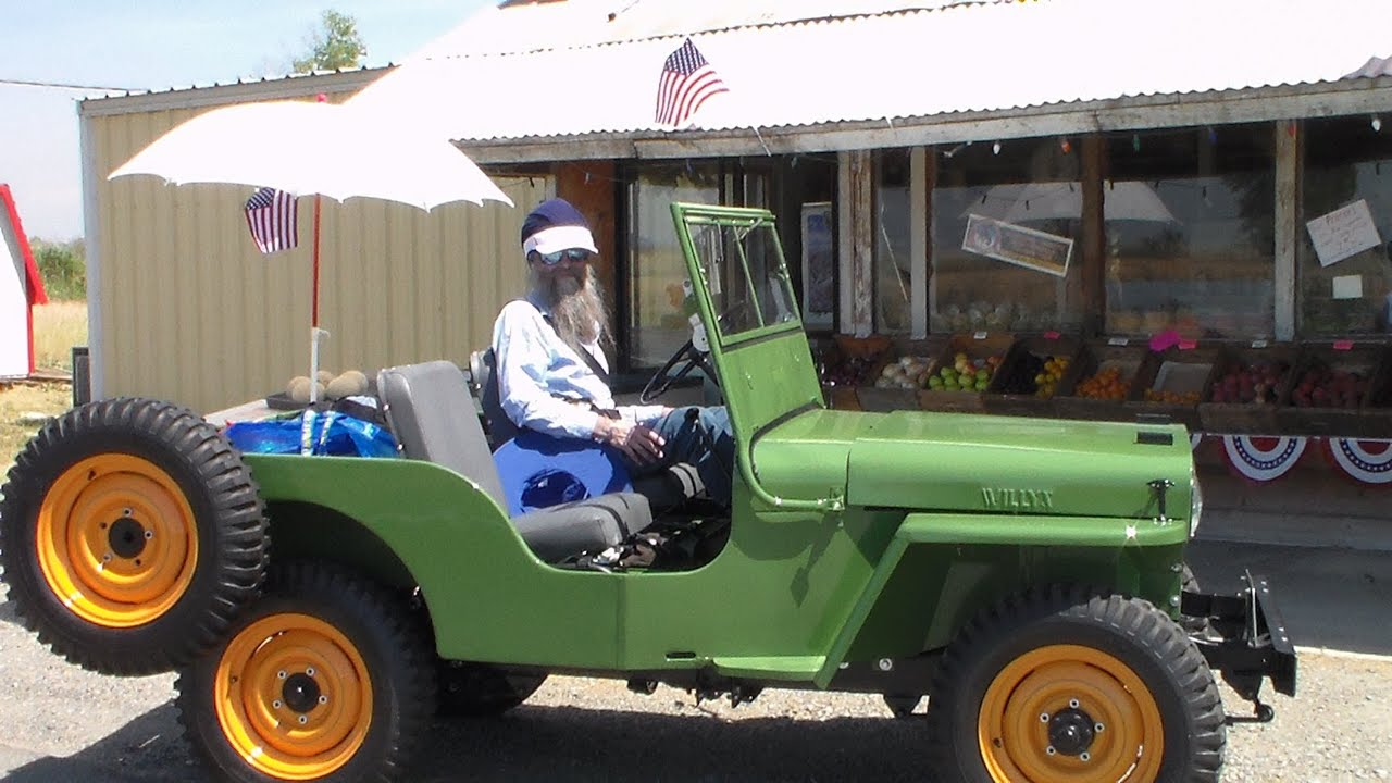 1946 Jeep Willys Traveling to show my fully restored 1946 CJ2A Willys Jeep ...