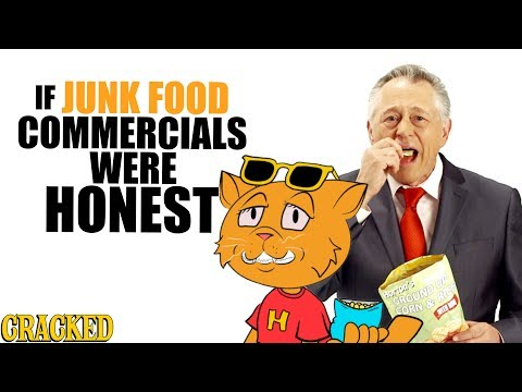 If Junk Food Commercials Were Honest - Honest Ads