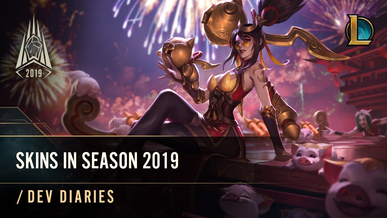 Skins in Season 2019 | /dev diary - League of Legends