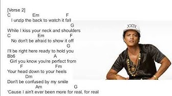 VENSACE ON THE FLOOR-BRUNO MARS(CHORDS AND LYRICS)