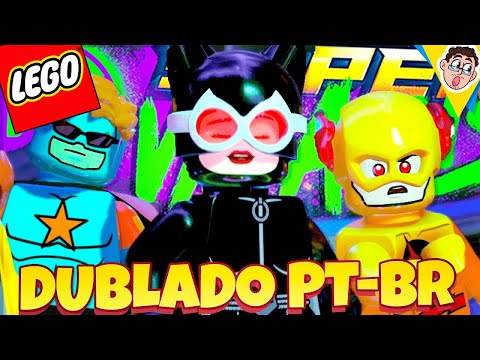 LEGO DC Super Villains - Super Heróis vs Super Vilões (Gameplay PT-BR DUBLADO)