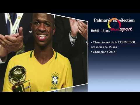 L'incroyable histoire de Vinicius Jr, la nouvelle star du Real Madrid
