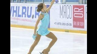 Фигурное катание. Маша Данилова, 10 лет, короткая программа, II спортивный разряд