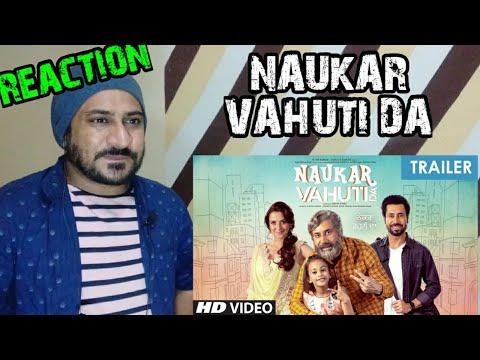 reaction-on-punjabi-movie-🎬-trailer-naukar-vahuti-da-|-vicky-kee