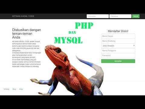 Tutorial Membuat Website Forum Menggunakan Php Dan Mysql