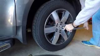 Honda Pilot Front Brake Replacement