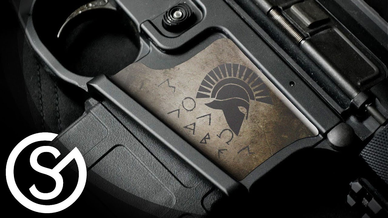 Gunskins magwell skin lower reciever decal