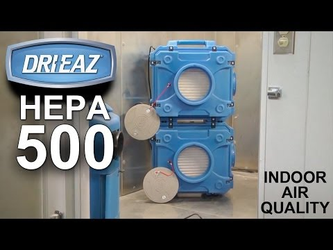 Indoor Air Quality - DriEaz Defendair HEPA 500 Air Scrubber