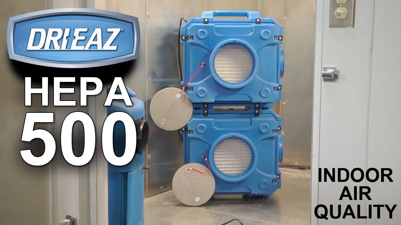 Defendair HEPA 500 Air Scrubber//Negative Air Machine Replacement Filter