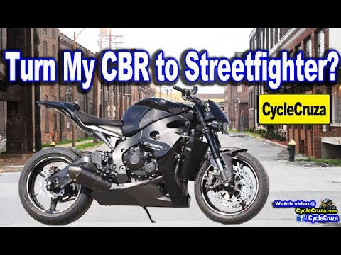 Convert My CBR1000rr into Streetfighter Motorcycle? | MotoVlog