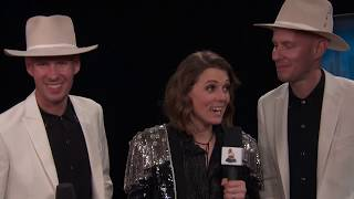 Brandi Carlile Thank You Cam | 2019 GRAMMYs