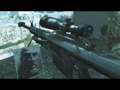СНАЙПЕРСКАЯ МИССИЯ В ПРИПЯТИ Call Of Duty 4 Modern Warfare 1 - убить одним выстрелом
