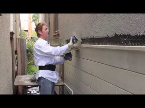 Teaching Plaster Rendering Dash Finish Tips And Shortcuts