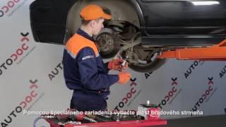 Ako vymeniť Drżiak ulożenia stabilizátora na - video sprievodca