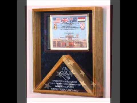 Retirement flag, Military Ceremonial Flag Display cases, Military ...