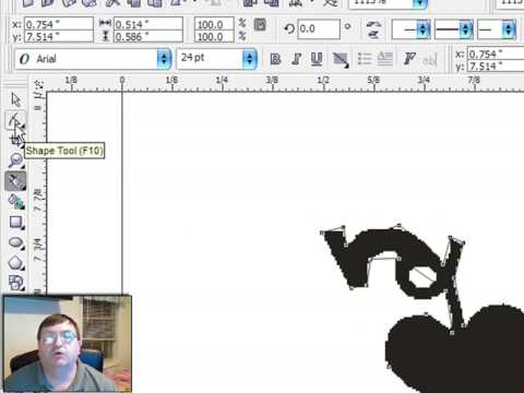 Tracing clipart with Corel Draw - YouTube