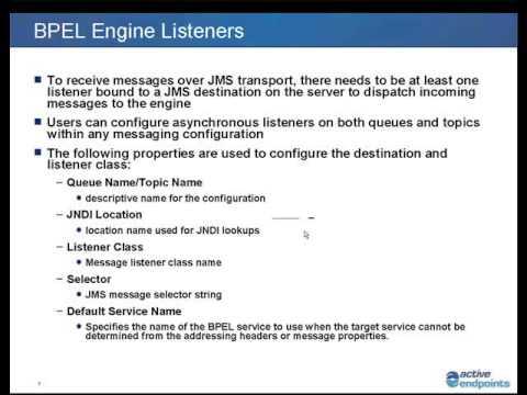 ActiveVOS: JMS: Web Service Interaction using JMS - Presentation/Sample