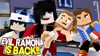 Minecraft Adventure - LITTLE DONNY STOPS EVIL RAMONA FROM KIDNAPPING RAVEN'S BABY SISTER!!