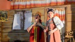 Новогодняя сказка 2016. Очень смешная песня марфушки душки. Хочу жениха красивого, богатого!